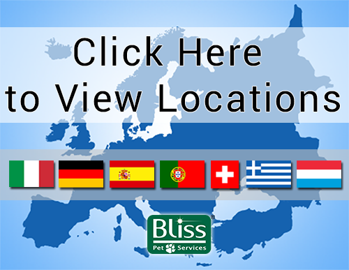 Bliss Pet Services Locations in Europe