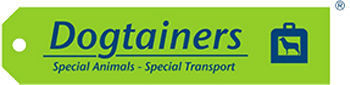 Dogtainers Logo pet travel expert