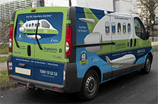 Dogtainers Pet Moving Van