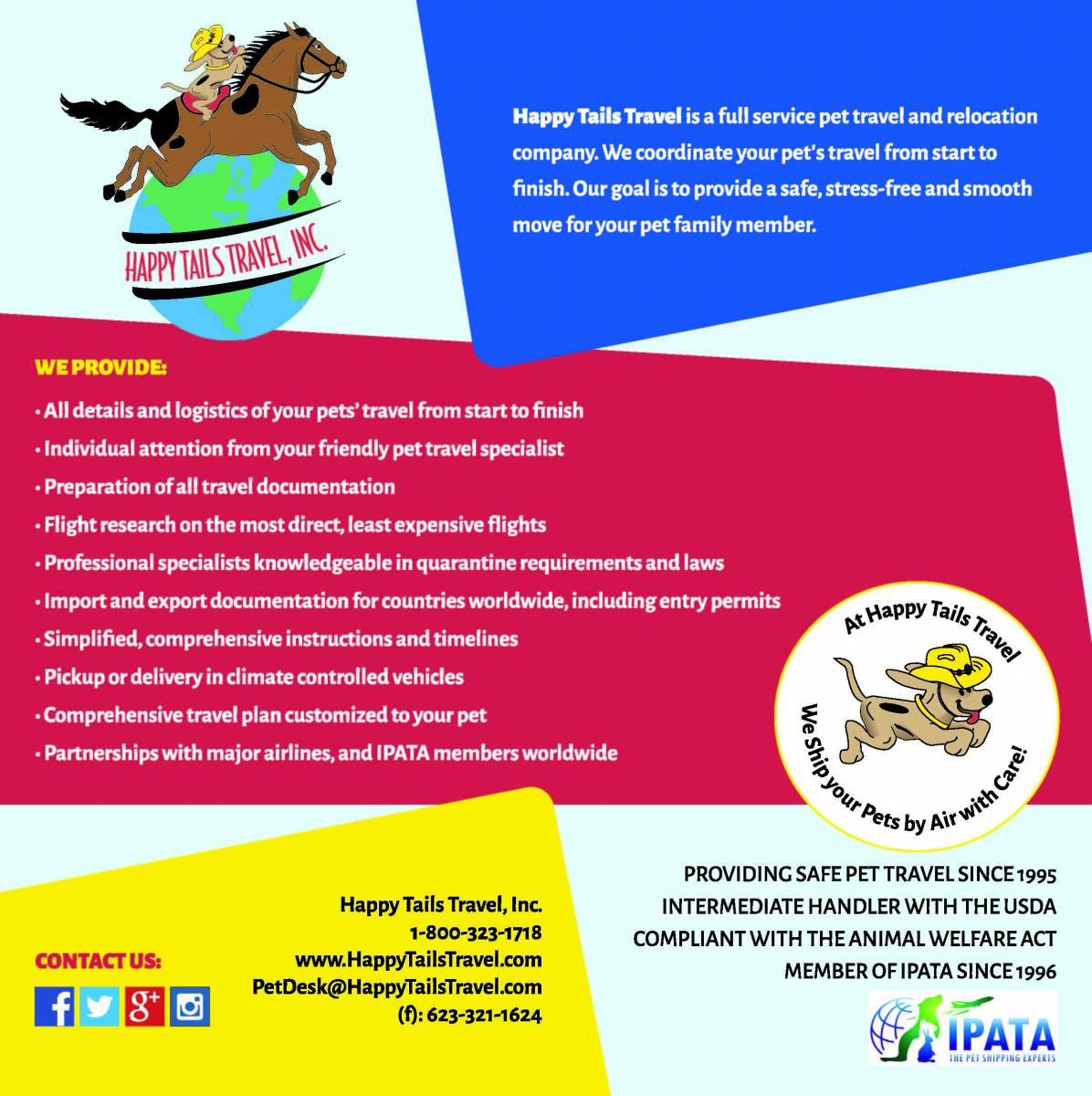 Happy Tails Pet Travel Experts